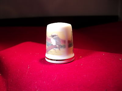 Thimble WESTMINSTER AUSTRALIA bone china made in England (CODE 919)