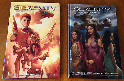 Collector's Serenity Firefly Better Days Those Left Behind Comic Books Lot of 2