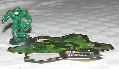 Heroscape Marvel The Conflict Begins Abomination Figurine and Card