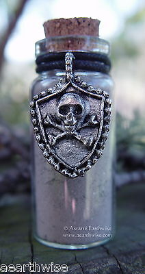 1 x GOOFER'S DUST POISONERS ALTAR CHARM Wicca Pagan Witch Goth GOOFER DUST