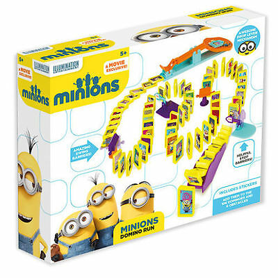 Despicable Me Minions Domino Run Rally Set Kids Childrens Toy Game 28-0094