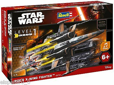 Star Wars VII Poe's X-wing Fighter, Revell Bausatz 06750