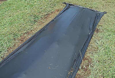 Black Degradable Plastic Mulch 4 ft x 3000 ft Cucumbers