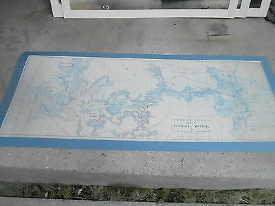 SEPTEMBER 1907 PANAMA CANAL ZONE original COMMISSION MAP