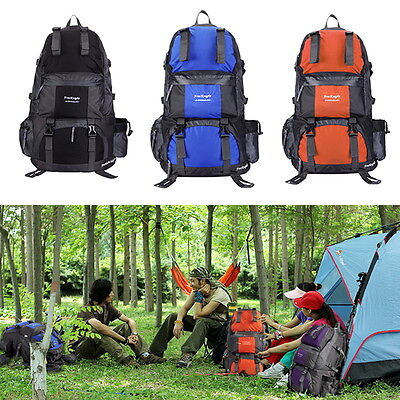 50L Climbing Outdoor Travel Backpack Sport Camping Hiking Rucksacks Bags Luggage