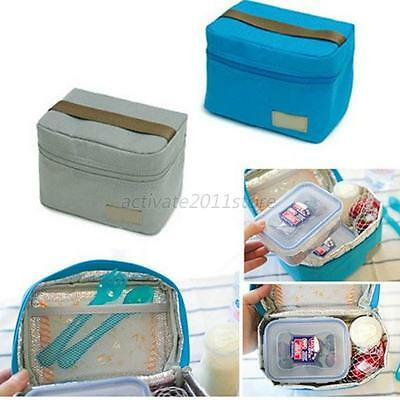 Insulated Waterproof Thermal Small Picnic Cooler Lunch Bag Storage Box Tote A51