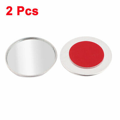 """2"""" Dia Blind Spot Rear View Mirrors Wide Angle Round Convex Mirror 2 Pcs"""