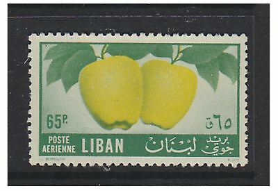 Lebanon - 1955, 65p Fruit stamp - L/M - SG 547