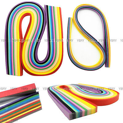 Hot Sale Cute 160 Stripes Quilling Paper 3mm/5mm Width Mixed Color For DIY Craft