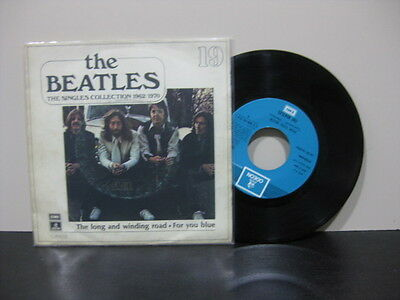 """The Beatles Spanish 7""""  The Singles Collection 1962/1970 For You Blue"""