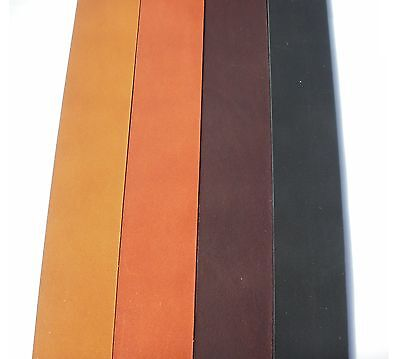 2Mm Thick Premium Veg Tan Cowhide Shoulder European Leather Belt Blanks