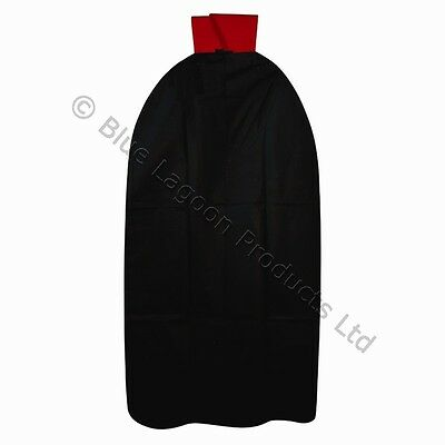 Halloween Fancy Dress Party Adults Dracula Cape With Red Collar Trick Or Treat