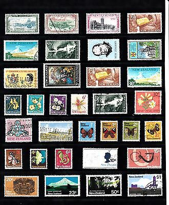 NEW ZEALAND Stamp COLLECTION majority QEII USED REF:QA701