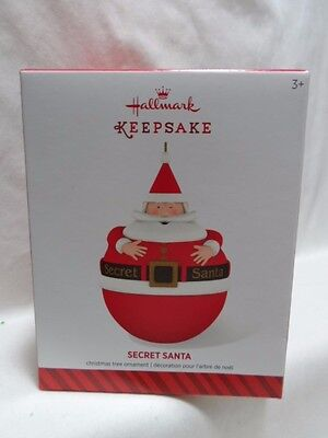 2014 Hallmark Keepsake Ornament Secret Santa Loc B17