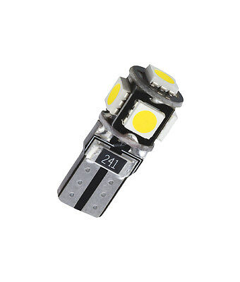 1 x T10 W5W 5 SMD LED Innenraumbeleuchtung Fußraumbeleuchtung Weiß