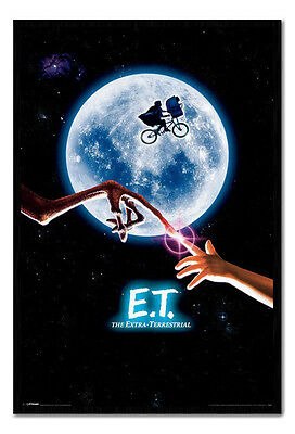 Framed ET The Extra Terrestrial One Sheet Style Movie Film Poster New
