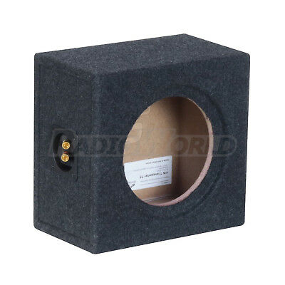 "VW Transporter T5 Under Seat Custom Fit MDF 8"" Sub Box Subwoofer Enclosure Bass"