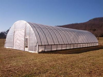 16 x 96 ft Greenhouse - 3.5 ft Low Sidewall High Tunnel Kit Cold Frame Package