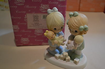 2001 Precious Moments You're The Best Friend On The Block Figurine 524018
