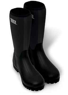 Zebco NEW Dark Star Neoprene Rubber Fishing Boots - All Sizes
