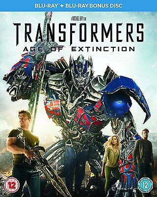 Blu-Ray Transformers Age Of Extinction   Brand New Sealed Uk Stock