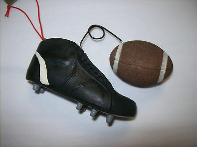 Football with Shoe Ornament