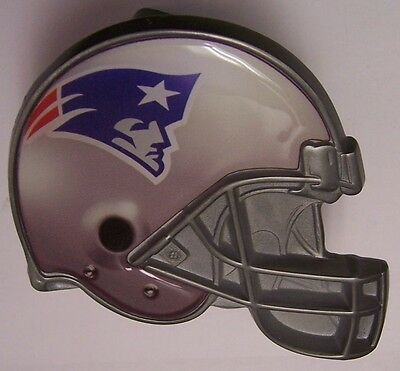 Trailer Hitch Cover NFL New England Patriots NEW Metal Football Helmet