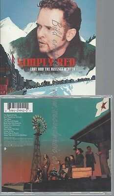 Cd--Simply Red--Love And The Russian Winter