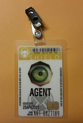Agents Of Shield ID Badge- Agent cosplay prop costume
