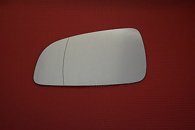 Left Side Wide Wing Mirror Glass Fits Vauxhall Astra H Mk5 Convertible 2004-2008