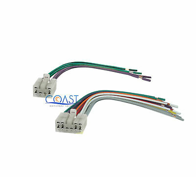 Male Wire Harness Plugs into Factory Radio for 1987-2007 Toyota Scion Vehicles