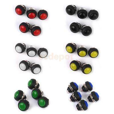30x Momentary Push Button Horn Switch OFF (ON) for Dashboard Boat Car Waterproof