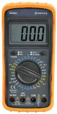 Mercury 600.100 Professional Digital Electrical Multitester 32 Test Ranges - New