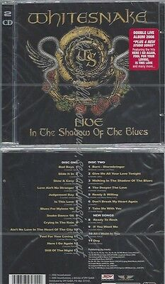 Cd--Whitesnake--Live.. . In The Shadow Of The Blues  Doppel-Cd