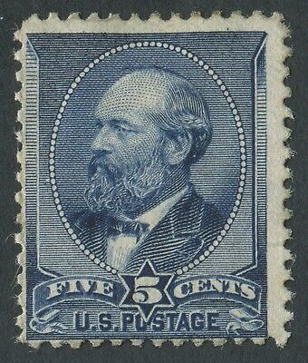 USA 1888 SG.221 5 cents Mounted Mint