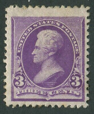 USA 1890-3 SG.226 3 cents Violet Mounted Mint