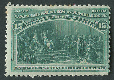 USA 1893 SG.243 15 cents Mounted Mint