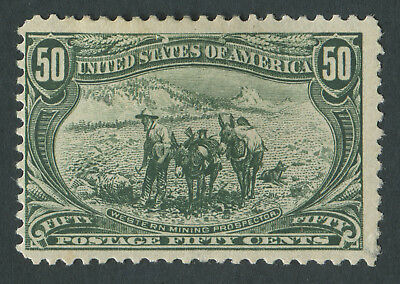 USA 1898 SG.297 50 cents Mounted Mint