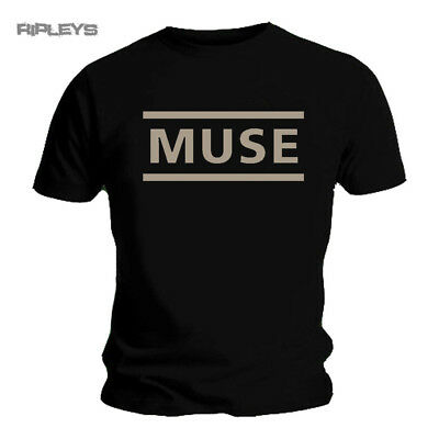 Official T Shirt MUSE Drones   Classic LOGO Black All Sizes