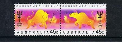 Stamps Australia  Christmas Island  1997 Year Of The  Ox  Stamps  (Mnh)  C1