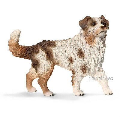 Schleich 16392 Australian Shepherd Female Dog Animal Toy Figurine - NIP