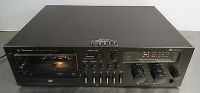 Vintage hifi - Stereo Cassette tapedeck Technics RS-673 - high end - ~ 1977
