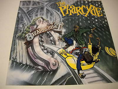 PHARCYDE 2-sided PROMO COLLECTOR FLAT Bizarre Ride MINT