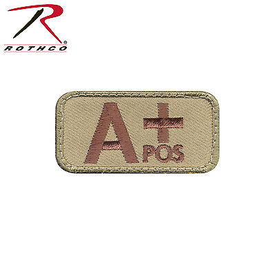 73190 Rothco A Positive Blood Type Morale Patch