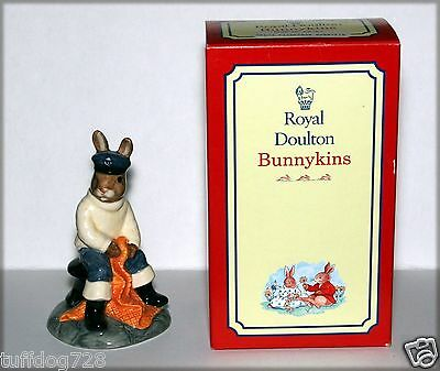 Royal Doulton 1997 Fisherman Bunnykins Db-170, Mint Condition, Original Box!