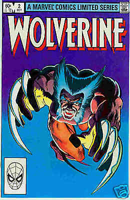 Wolverine (lim.series) # 2 (of 4) (Frank Miller) (USA, 1982)
