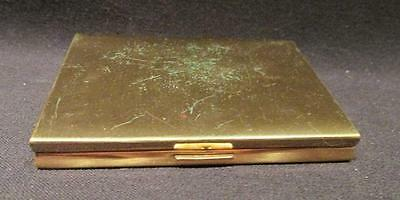 Parker Pen Wadsworth Vintage Compact with Puff Gold Pocketbook Style