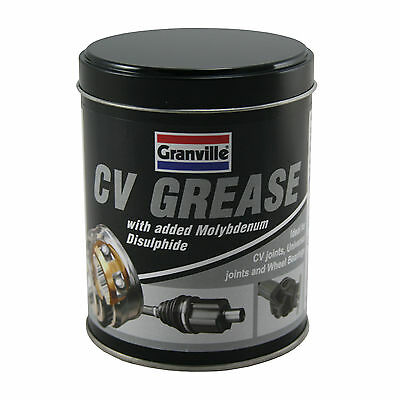Granville CV Grease Moly Lithium Lubricant Water Resistant Bearings Joints 500g