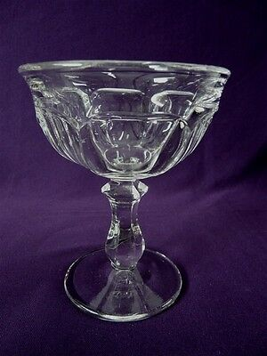 """Imperial Glass Ohio Crystal Old Williamsburg Sherbet/champagne 4-3/4"""""""