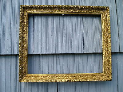 Antique Aesthetic Eastlake Victorian Fine Detail Ornate Picture Frame 8 x 10
